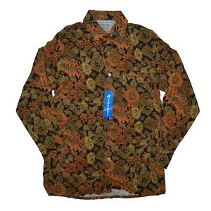Vintage Rayon Button Shirt Bridgeport Canada Size Medium MadeinCanada Deadstock