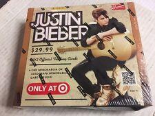 2012 Panini Justin Bieber Trading Cards Box (1 Auto or Auto Memorabilia!) SEALED