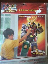 Power Rangers Samurai Party Supplies-Party Game