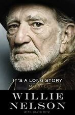 It's a Long Story: My Life (NEW Hardcover) by Willie Nelson Book Country Music