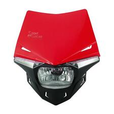 Red Headlight For Beta 50cc RK6 RR-T RR Alu Enduro SM AM6 perimeter UFO Enduro