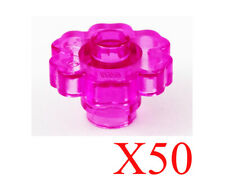 LEGO Hourglass with Trans-Dark Pink Sand Loose