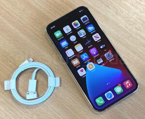 Apple iPhone 12 Pro (A2407), 128GB, UNLOCKED, Silver, VGC+warranty -805