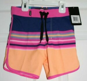 BOYS SZ 4 BOARD SHORTS SWIMSUIT by HURLEY-NEW WITH TAGS