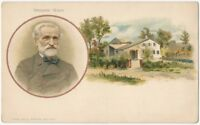 1900s Giuseppe Verdi -Huld Music Composers Series 1900s Postcard