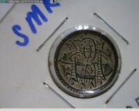 1857  Seated Liberty Dime Love Token 10c ( 1s239 )
