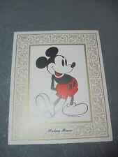 Picture  MICKEY MOUSE Suitable for Framing  Walt Disney productions