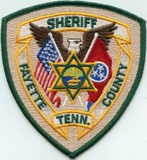 FAYETTE COUNTY TENNESSEE TN SHERIFF POLICE PATCH