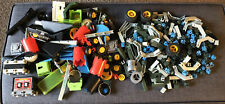 Fisher-Price Construx Vintage 1980's Miscellaneous Loose Large Lot Almost 400 Pc