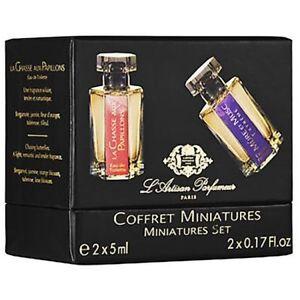 L'Artisan Parfumeur Coffret Miniatures Miniatures Set 2X5ml/0.17Oz New In Box