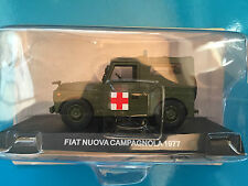 "DIE CAST "" FIAT NUOVA CAMPAGNOLA - 1977 "" SCALA 1/43 CARABINIERI"