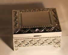 Silver Plated Trinket Box - Free Engraving