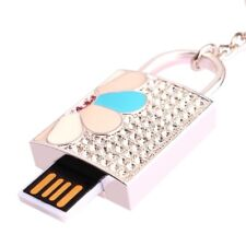 Clé USB flash porte-clé de sac CADENAS cadeau luxe Swarovski®Elements 8 GB