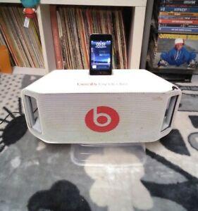 Beatbox Portable Bluetooth Enceinte Baffles Beats By Dre Blanche iPod Apple Work