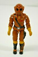 "Vintage Gi Joe 1987 WORMS v1 Cobra Maggot Driver Hasbro 3.75"" Action Figure"