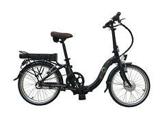 "Ecosmo Folding Electric Bicycle -  16"" Alloy Folding Bike, 250w 36v 8.7ah Battery (E-20F01BL)"