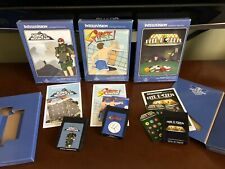 INTELLIVISION SPIKER, DEEP POCKETS & KING OF THE MOUNTAIN CARTRIDGES NIS