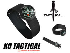 Watch Strap Miltec Military Survival Bushcraft Outdoor Wristband Mini Compass