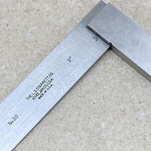 STARTETT No. 20 HARDENED PRECISION SQUARE 3 in. Machinist Tools