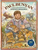 PAUL BUNYAN by Steven Kellogg FREE SHIPPING paperback children's book folklore