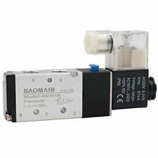 Baomain Pneumatic Air Control Solenoid Valve 4V210-08 220V AC 5 Way 2 Positio...