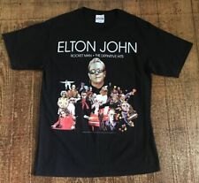 Elton John Rocket Man 2011 Concert Shirt Adult Size Medium Black