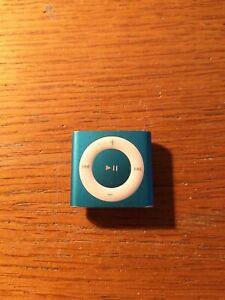 Lecteur Multimédia Apple iPod shuffle 4ème Génération Bleu 2 Go (Dernier Modèle)