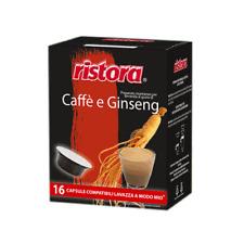 48 CAPSULE CIALDE RISTORA COMPATIBILI LAVAZZA A MODO MIO CAFFE GINSENG BREAKSHOP