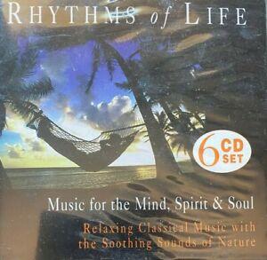 Rhythms of Life 6-Disc Set Fat Pack CD Album Like New