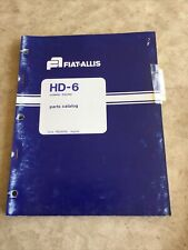 Allis Chalmers Hd6 Crawler Dozer Parts Manual