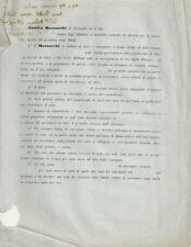 Coccaglio Contratto di Andrea Mazzocchi per la Tenuta di Bigatti 1862