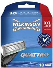 Wilkinson Sword Quattro für Herren Rasierklingen X10