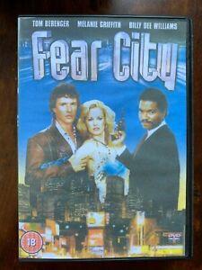 Fear City DVD 1984 Abel Ferrara Violent Cult Erotic Crime Thriller Movie USED