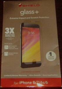 ZAGG InvisibleShield Glass+ Screen Protector for iPhone 6, 6s/7/8 New in Box