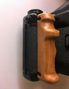 Wood-Poignée tinte Merisier Pentax 67 Hand Grip- Cherry Wood tint- Handgriff