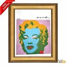 Andy Warhol - Hand Signed Original Print with COA