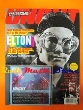 rivista UNCUT 52/2001 +CD Manu Chao Elton John Human League Steve Coogan Beatles