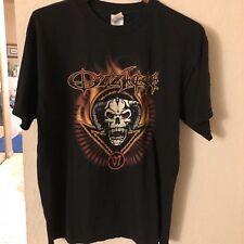 Authentic Ozzfest 2007 Concert Tour Large T Shirt Ozzy Osbourne Static x