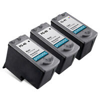 3 Pack Canon PG-40 CL-41 Ink Cartridge for PIXMA iP1600 iP1700 iP1800 iP2600