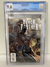Black Panther #1, vol. 5 (Marvel, 2009) J. Scott Campbell cover, CGC 9.6