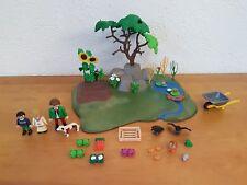 Playmobil Zubehör zum Bauernhof Bauer am Feld
