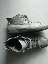 Puma grey  Mens  ankle Low Top Trainers Boots Size UK 10 .5 used vgc