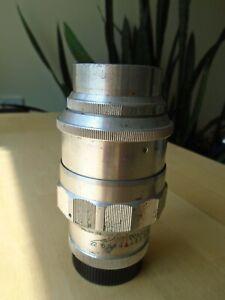 Jupiter 11 135mm lens for m39 cameras with lens caps