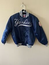 Vintage Youth Yankees MLB Nylon Starter Jacket Diamond Collection Size M