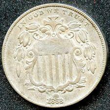 1868 REV 67 (XF) 5C SHIELD NICKEL