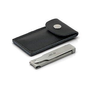 Otto Herder Travel Nail Clippers, Stainless Steel, made in Germany