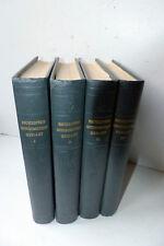 Nouvelle Encyclopédie Autodidactique QUILLET - 4 volumes 1956
