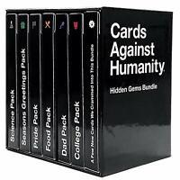 Cards Against Humanity: Hidden Gems Bundle: Pride, Dad, Food, College, Science
