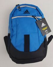 64b282d3bd19 Adidas Foundation IV Laptop Blue Black Backpack Media Pocket DURABLE  LIFETIME