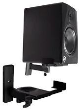 (2) Rockville RHSB8 Wall Mount Swivel Speaker Brackets For Restaurant/Office/Bar